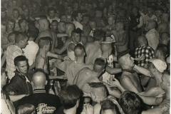 1980's, crowd Hamburg NL