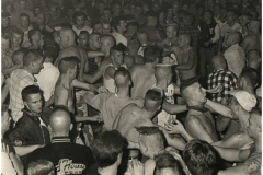 1980's, crowd Hamburg NL