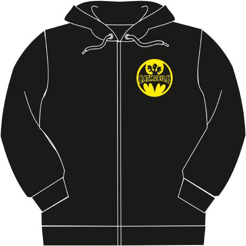 Zip Hoodie Batmobile Signal